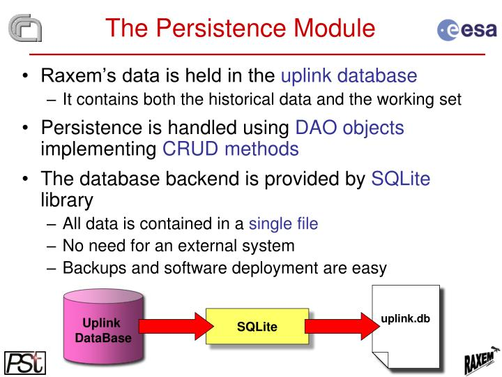 The Persistence Module