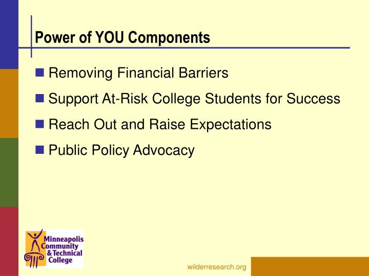 Power of YOU Components