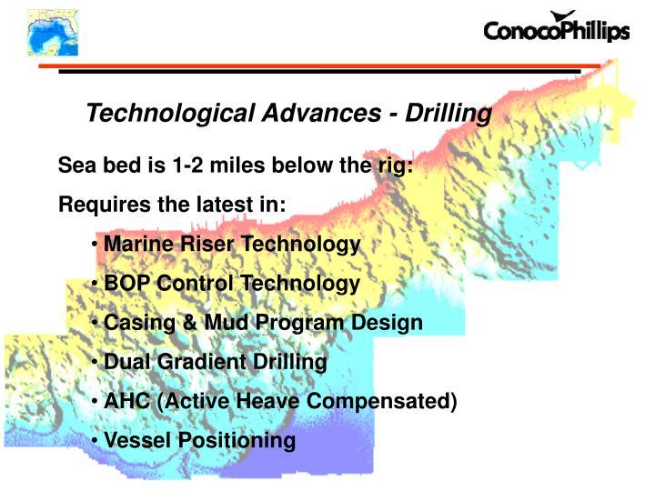 Technological Advances - Drilling