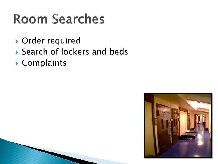 Room Searches