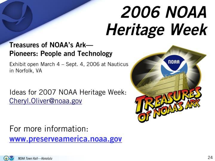 2006 NOAA