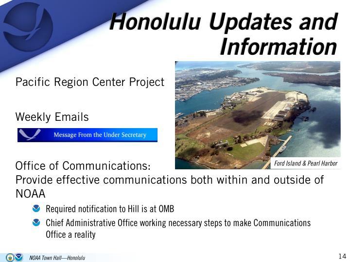 Honolulu Updates and Information