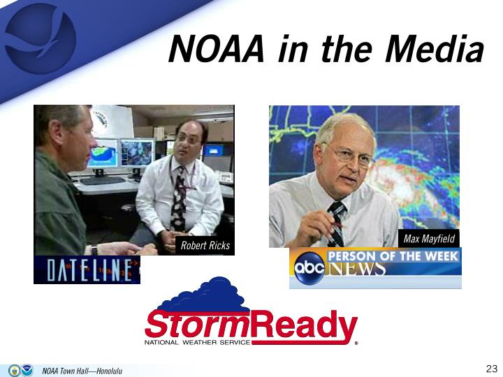 NOAA in the Media