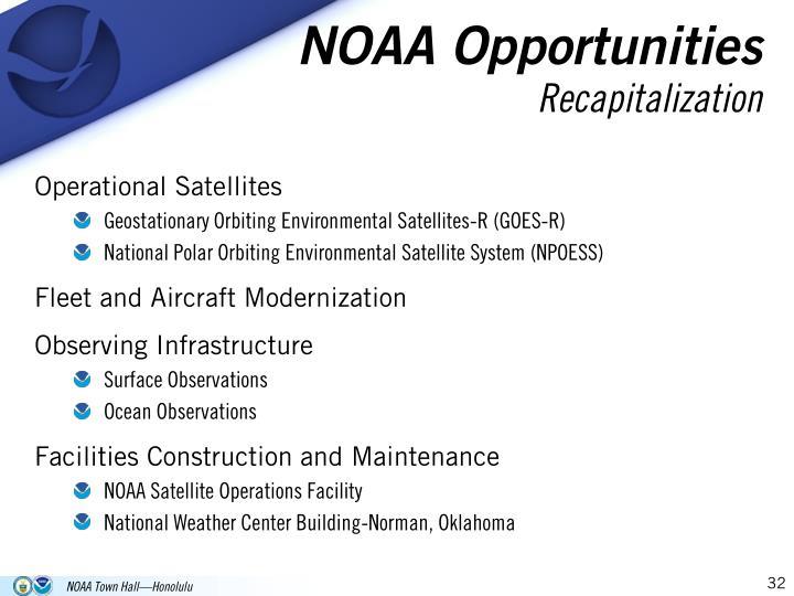 NOAA Opportunities