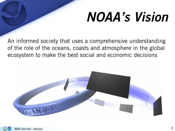 NOAA's Vision