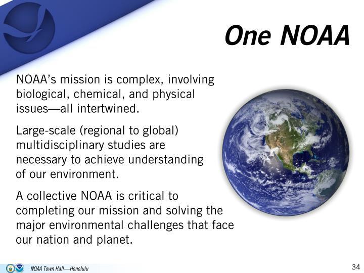 One NOAA