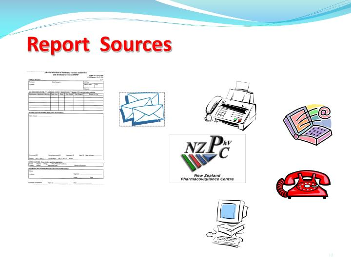 Report  Sources