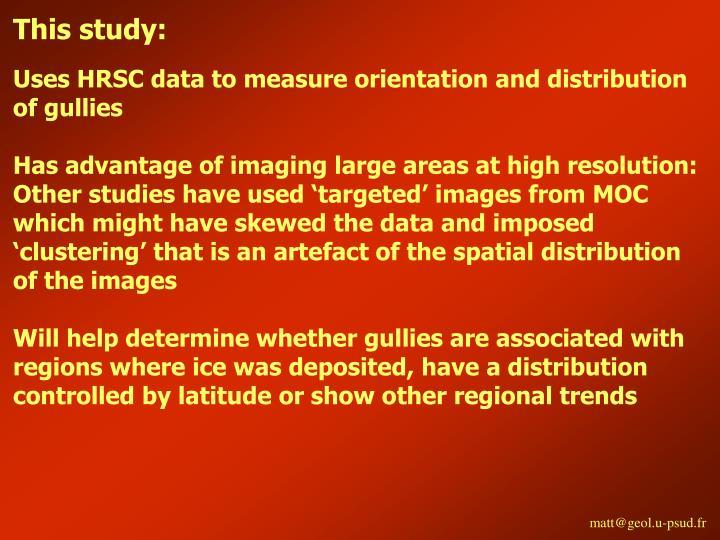 This study:
