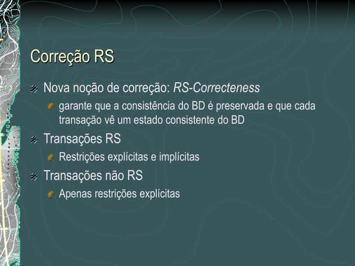 Correção RS