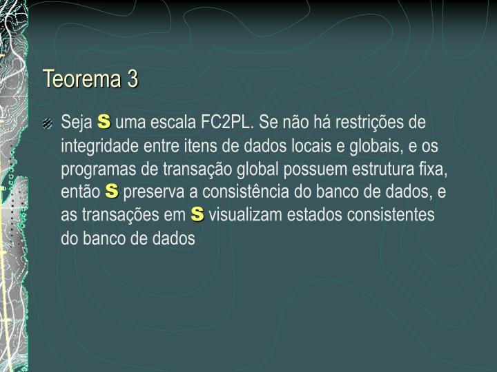 Teorema 3