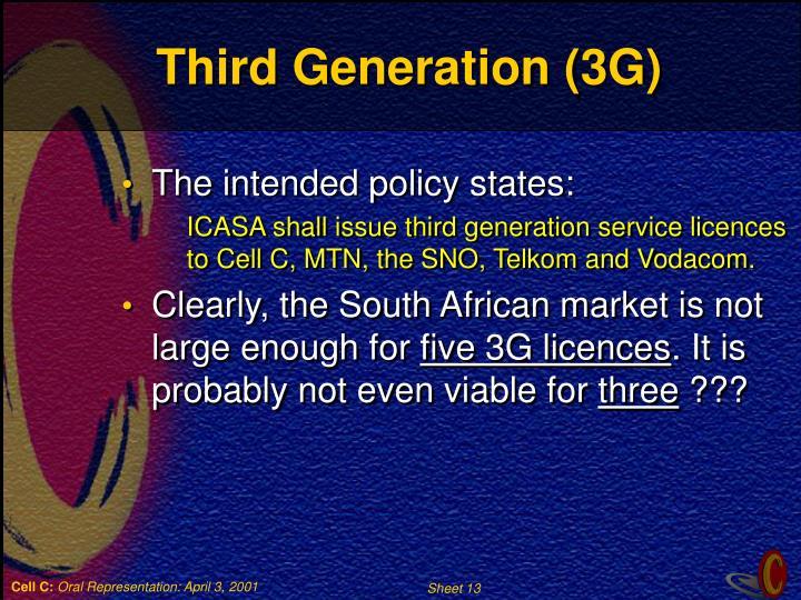 Third Generation (3G)