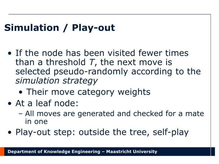Simulation / Play-out