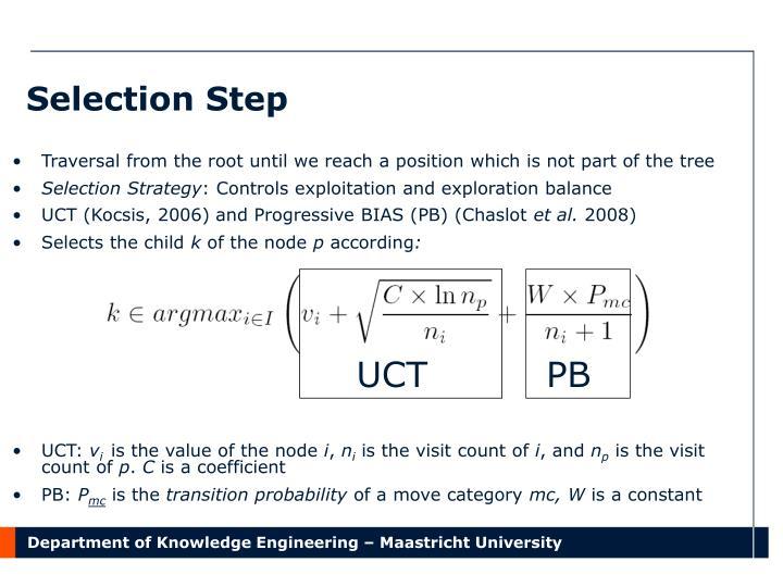 Selection Step