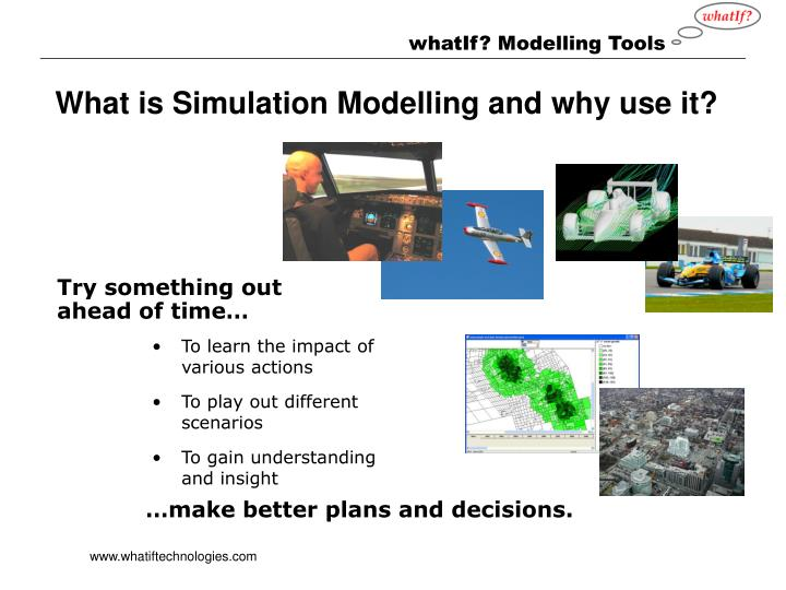 What is Simulation Modelling and why use it?