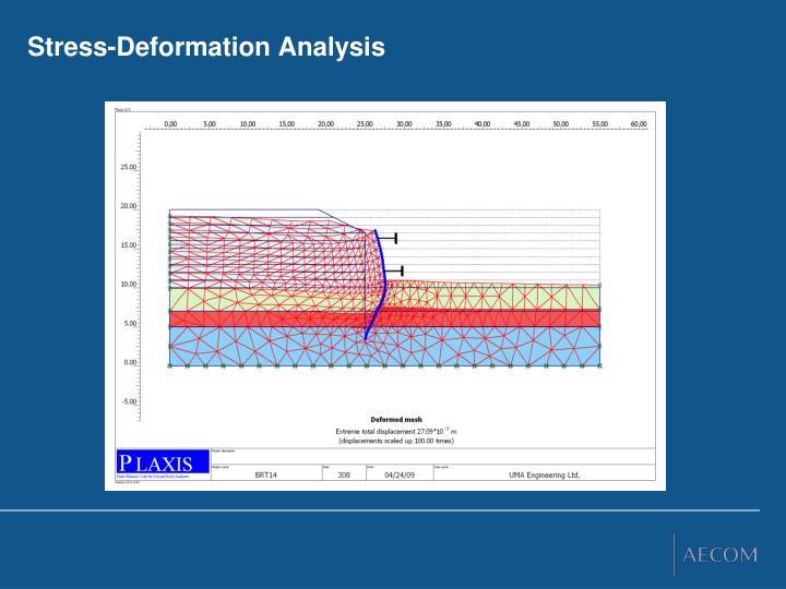 Stress-Deformation Analysis