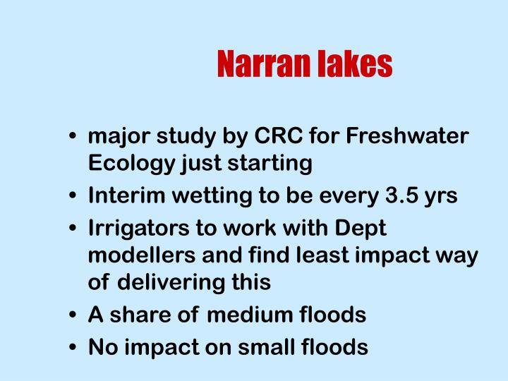 Narran lakes