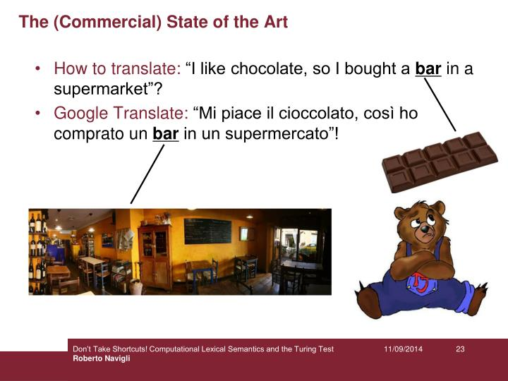 The (Commercial) State of the Art