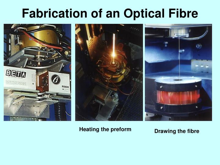 Fabrication of an Optical Fibre