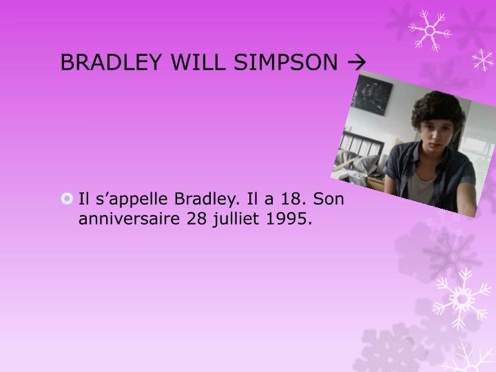 BRADLEY WILL