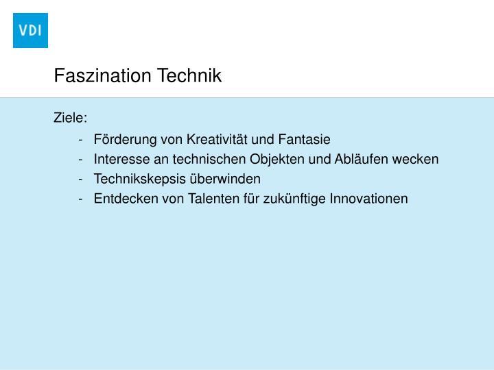 Faszination Technik