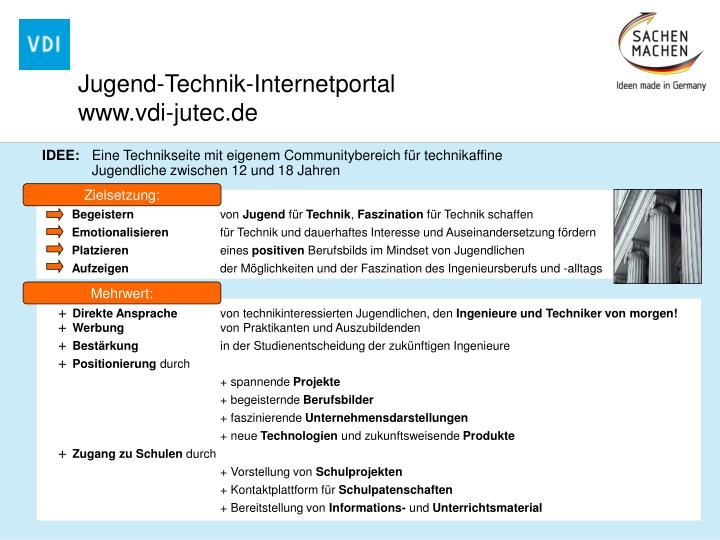 Jugend-Technik-Internetportal