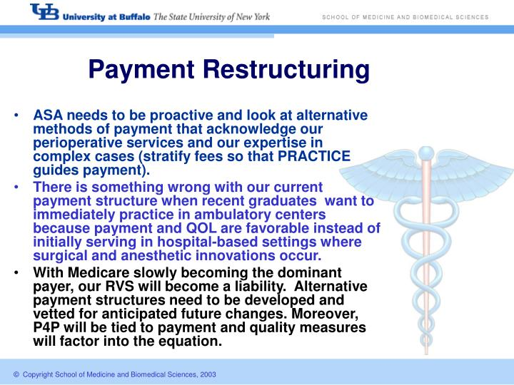 Payment Restructuring
