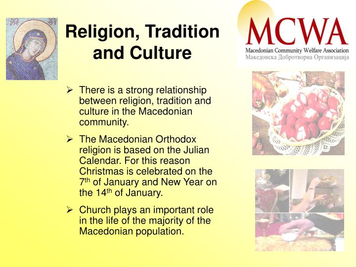 Religion, Tradition
