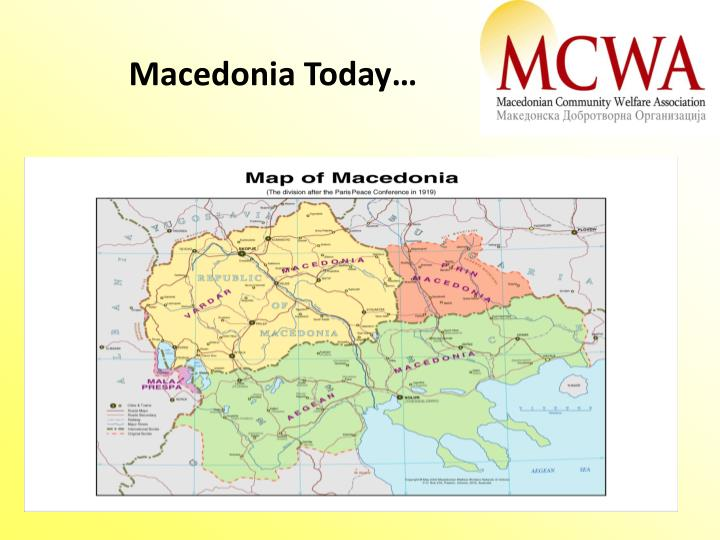 Macedonia Today…