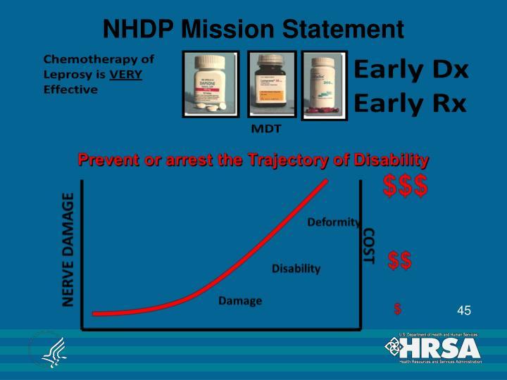 NHDP Mission Statement