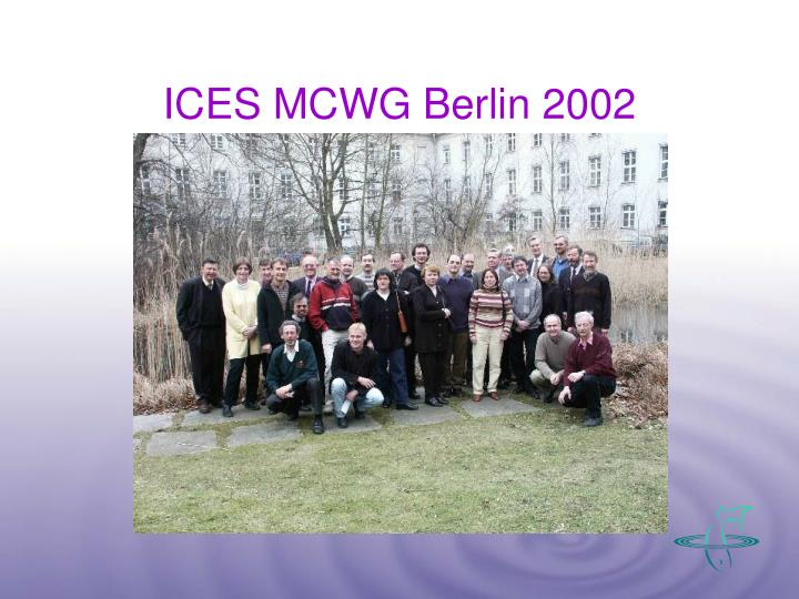 ICES MCWG Berlin 2002