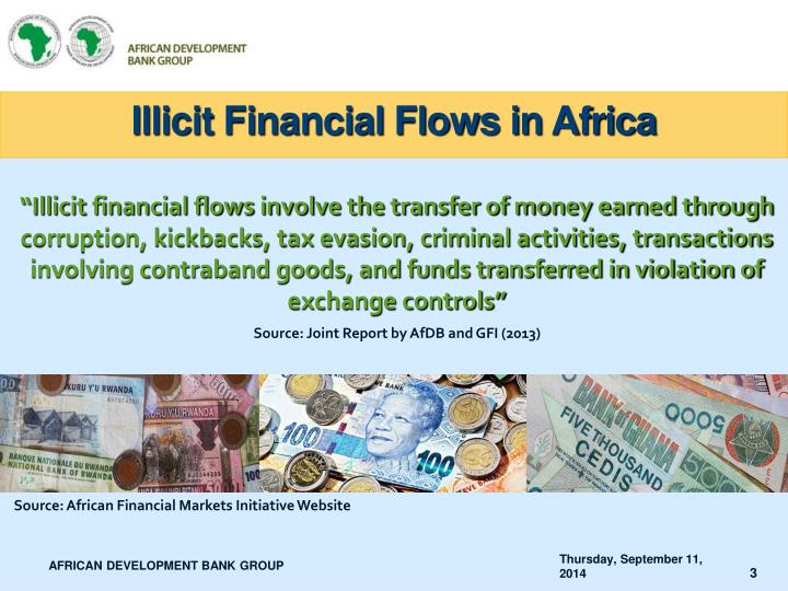 Illicit financial flows in africa