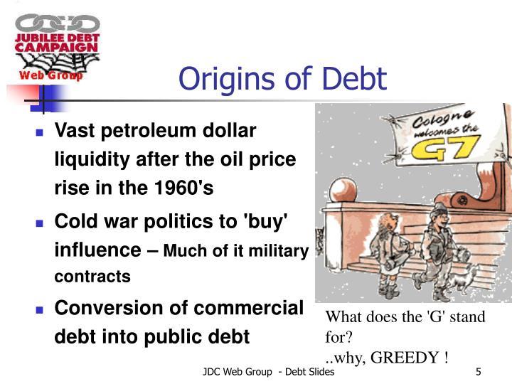 Origins of Debt