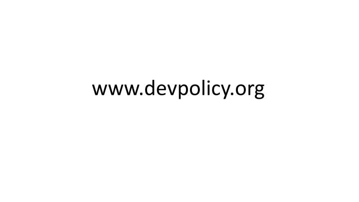 www.devpolicy.org