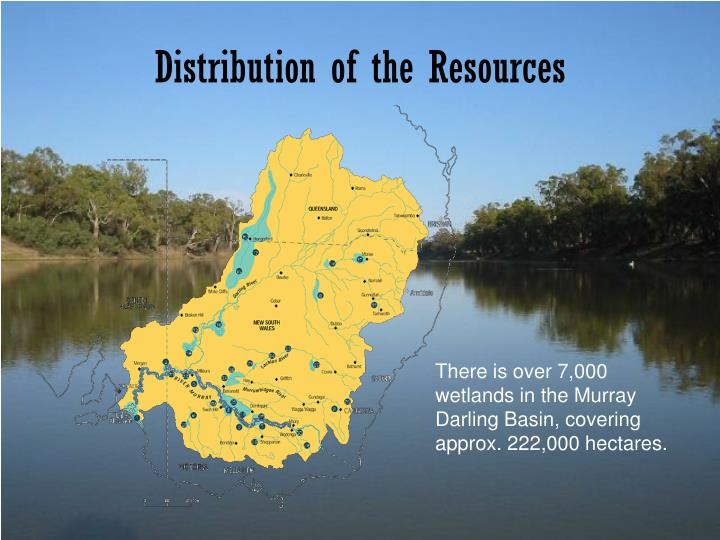 Distribution of the Resources