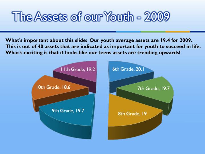 The Assets of our Youth - 2009