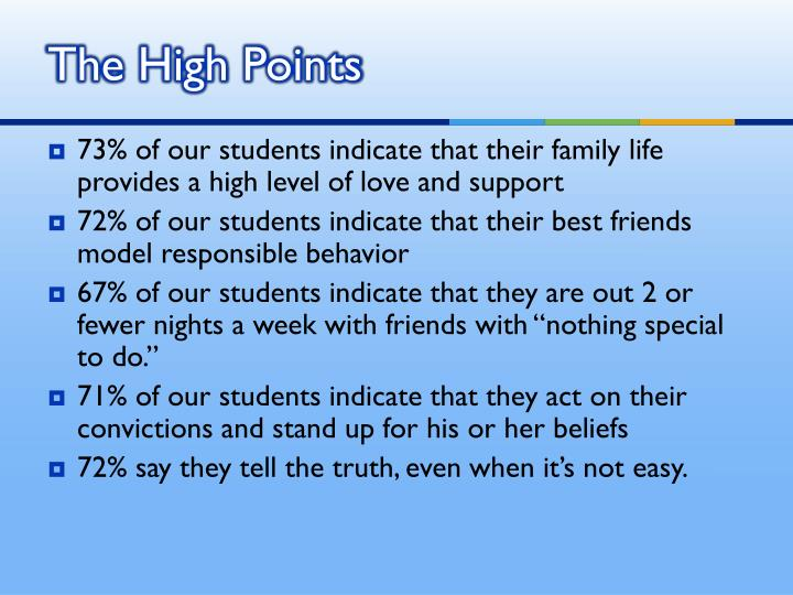 The High Points