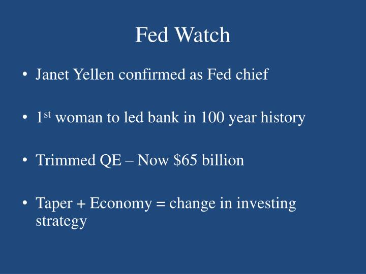 Fed Watch
