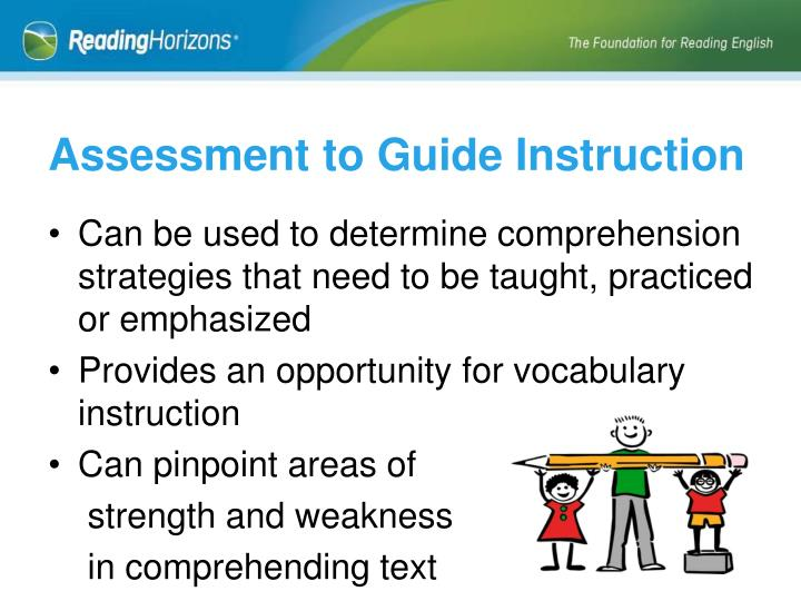 Assessment to Guide Instruction