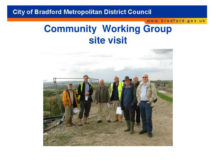 Community  Working Group