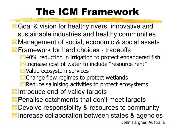 The ICM Framework