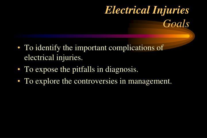 Electrical Injuries