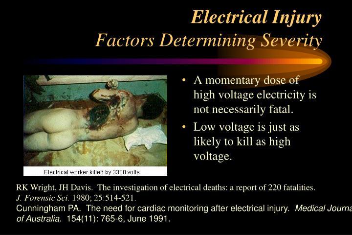 Electrical Injury