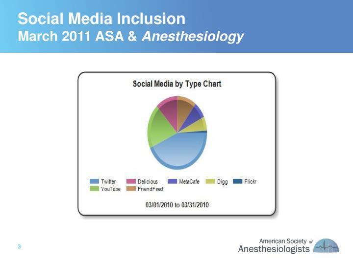 Social Media Inclusion