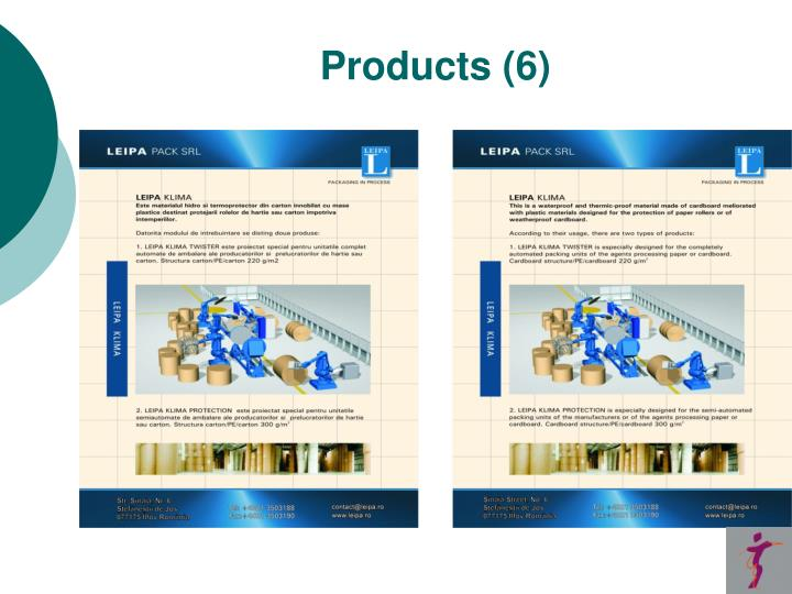 Products (6)