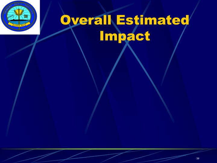 Overall Estimated Impact