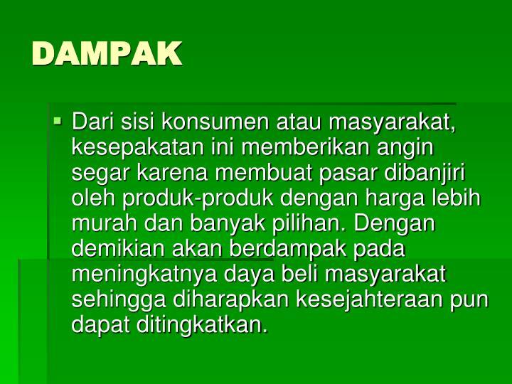 DAMPAK