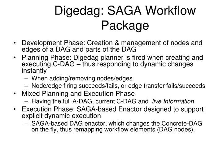 Digedag: SAGA Workflow Package