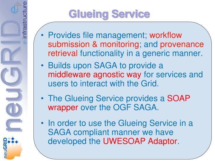 Glueing Service