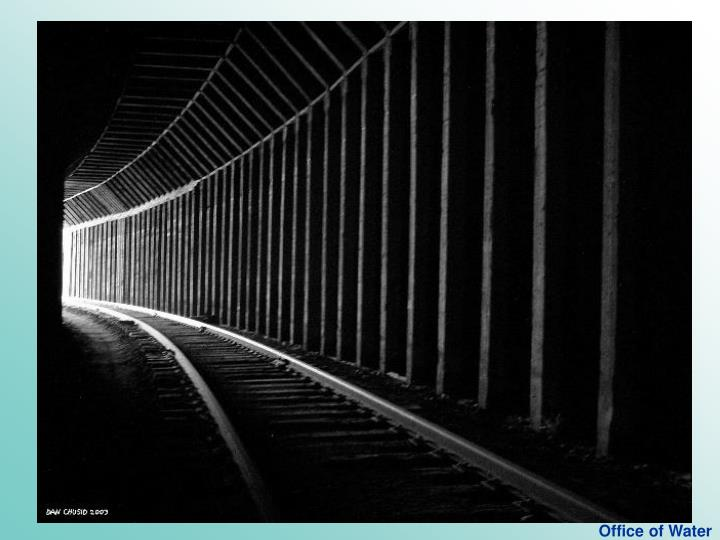 Light at end of the tunnel