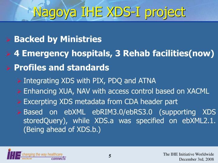 Nagoya IHE XDS-I project